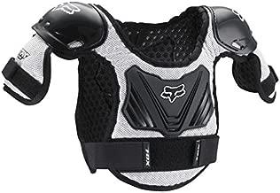 Fox Racing Peewee Titan Roost Defle, Black/Silver, Medium-Large