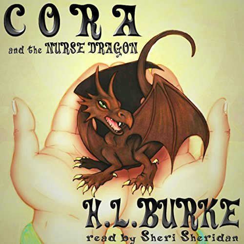 Cora and the Nurse Dragon audiobook cover art