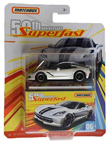 Matchbox 50th Anniversary Superfast '16 Corvette Stingray 1:64