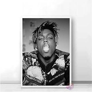 Póster Juice Wrld Póster Muziek Ster Rap Hip Hop Pósters Art Canvas Schilderij Muur Foto Voor Woonkamer Slaapkamer Home De...