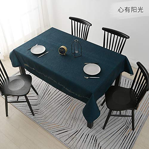 Tafelkleed Waterdicht Modern Minimalistische Stof Thema Eetkamer Woonkamer Thee Tafelkleed