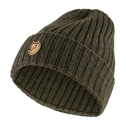 Fjällräven Re-Wool Mütze, Unisex, Erwachsene, Grün, Einheitsgröße