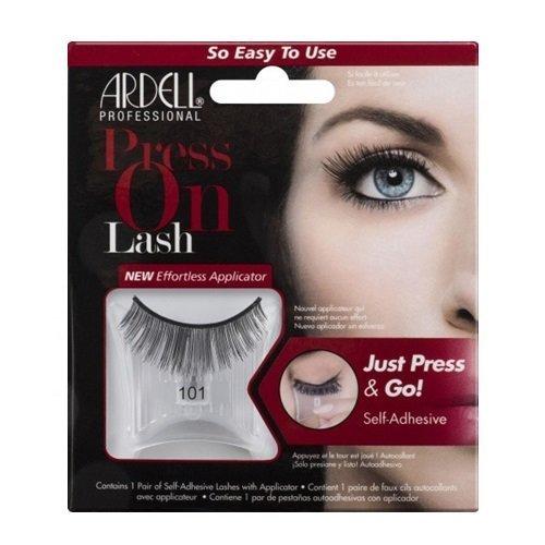 ARDELL Press On Lash Self-Adhesive 101 Black Faux-cils