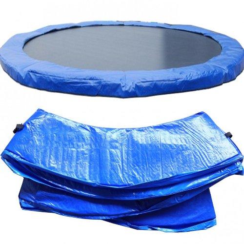 Trampolin PVC Federabdeckung, Randabdeckung, 4 m Durchmesser, ca. 27cm breit und 2cm dick, UV beständig