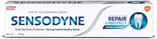 Sensodyne Toothpaste: Repair & Protect Sensitive Toothpaste for daily repair, Dentist Recommended Brand, 100gm