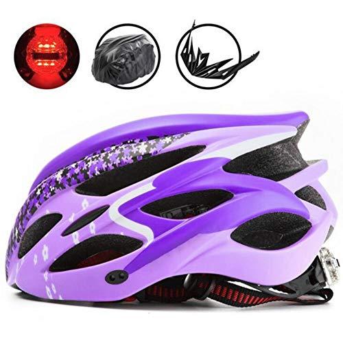 CFmoshu Helmet Adjustable Size Men Women Bike Helmet Cycle Helmet Mountain Bicycle Helmet Adjustable Comfortable Safety Helmet Outdoor Sport Riding Bike Lightweight Urban Road Cycling