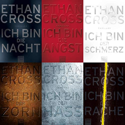 Shepherd Reihe von Ethan Cross Band 1 - 6 plus 1 exklusives Postkartenset