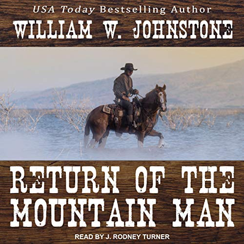 Return of the Mountain Man audiobook cover art