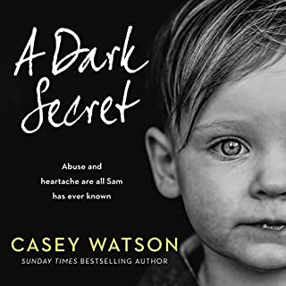 A Dark Secret audiobook cover art
