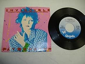 PAT BENATAR 45 RPM Invincible (Theme From