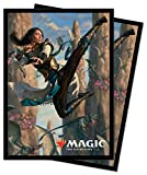 Ikoria: Lair of Behemoths - Narset of The Ancient Way Deck Protector Sleeves for Magic: The Gathering (100 ct.)