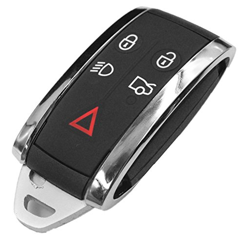 Replacement Remote Keyless Fob Key Case (Shell) Replacement Fit For Jaguar X S-Type XF XK XKR 5B KR55WK49244