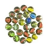 Children can play and enjoy Use for aquarium and for playing Can be use as show piece in aquarium toy marbles/glass marbles ball/aquarium decorations Unique and Cristal Quality marbles