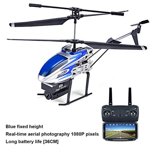 Globents Ferngesteuerter Hubschrauber mit konstantem Hochdruck, lang anhaltender Drohne, Echtzeit-Luftbildkamera und vierachsigen Flugzeugen.