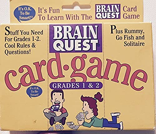 Brain Quest Card Game (Größes 1 & 2) by US Playing Cards