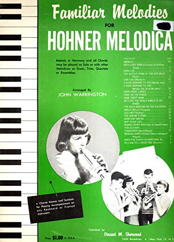Familiar Melodies for Hohner Melodica
