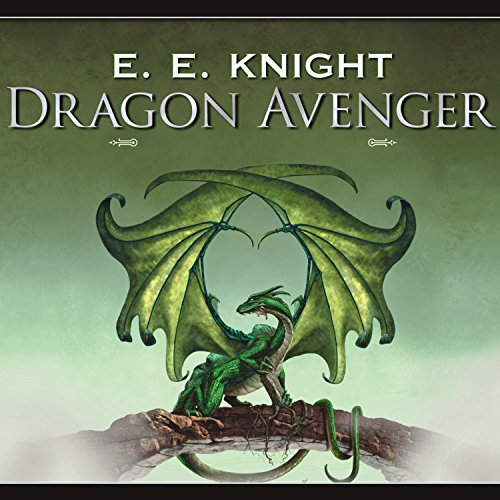 Dragon Avenger audiobook cover art
