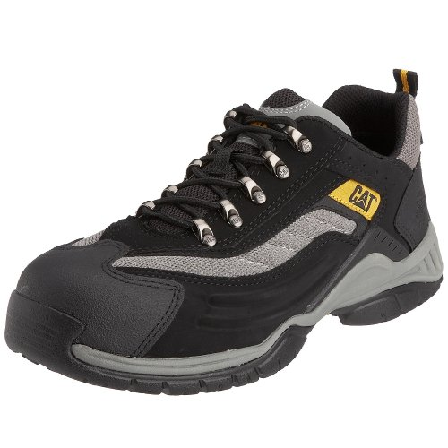 CAT Footwear Unisex-Erwachsene MOOR SB CAT WSCH LG ZW/GRYS 41 Sicherheitsschuhe, Schwarz (Black), EU