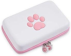 Custodia da viaggio Cat Paw compatibile con Nintendo Switch Custodia rigida portatile con tracolla staccabile per controll...
