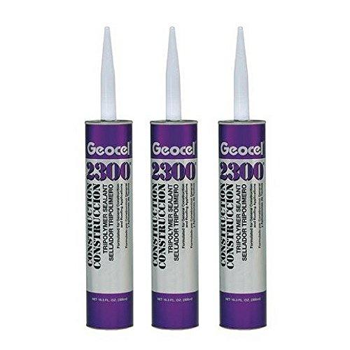 GEOCEL 2300 CLEAR Construction Tripolymer Sealant 10.3 oz. Cartridge (3-pack)
