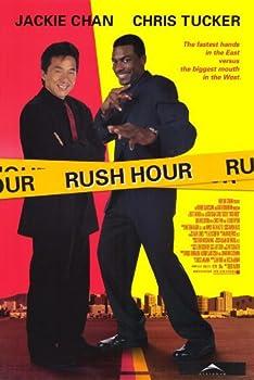 Pop Culture Graphics Rush Hour Poster Movie 11x17 Jackie Chan Chris Tucker Tzi Ma Julia HSU