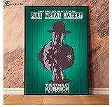 ZOEOPR Leinwand Poster Full Metal Jacket War Filmplakate