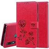 Dmtrab Phone Case pour Étui Portefeuille Huawei P Intelligent Z, rosée Horizontale Horizontale...