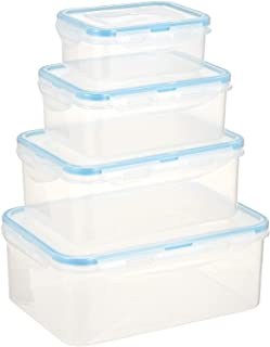 Harmony Storage Box Food Container Set of 8 Pieces, Multi-Colour