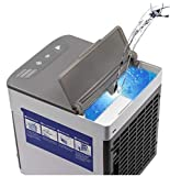 Portable cooler fan & Humidifier and purifier USB Desk Fan with 3 Speeds used for office, Room with...