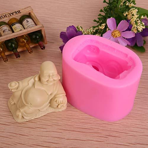 sina Lot de 2 moules en silicone pour bouddha et bouddha