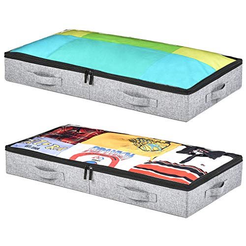 Low Profile Under Bed Storage Containers, 4.5