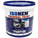 ISONEM – Pintura frontal – Pintura térmica – Pintura blanca – 18 L
