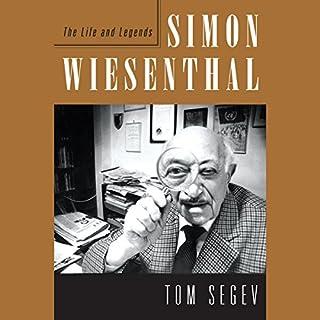 Simon Wiesenthal audiobook cover art
