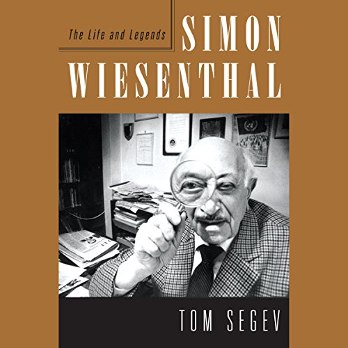 Simon Wiesenthal audiobook cover art