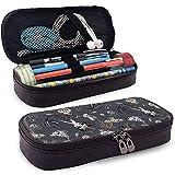 Estuche Lápices Zombies Fish Leather Cute Pencil Case - Pencil Pouch Stationery Organizer Makeup Bag Perfect Holder