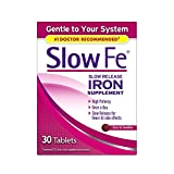 Best Iron Supplements - Slow Fe Iron Supplement Tablets for Iron Deficiency Review