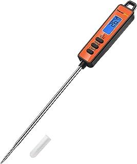 料理用温度計 デジタルキッチン温度計 調理用 クッキング温度計 スティック温度計 油 揚げ物 コーヒー 肉 天ぷら お茶などの温度管理 TP01A