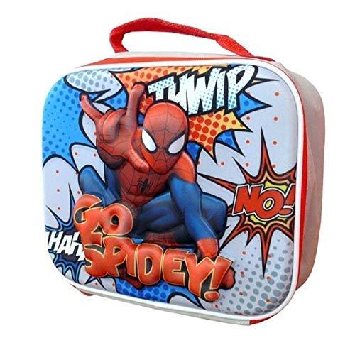 Spiderman Lunch Bag Go Spidey 25 cm Red 3D Eva Desig