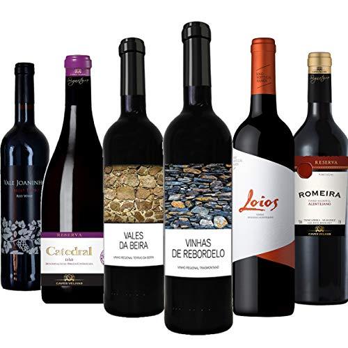 """Rotwein Probierpaket""""Preisknaller aus Portugal"""" trocken (6x 0,75 l)"""