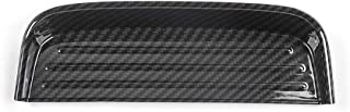 BXSAUISA Accessori per Auto Interni in Fibra di Carbonio della Moneta Vassoio Storage Box Pad Pannello di Rivestimento Adesivi for Ford Mustang Fit for 2015 Car Styling
