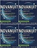 Novanuit Sommeil Triple action - Comprimés Sans Dioxide de Titane - 4 Mois de TRAITEMENT - Lot de 4 Boites de 30 Comp (4)