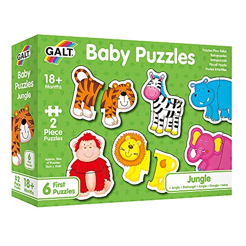 Galt Toys, Baby Puzzles - Jungle, Jigsaw Puzzles for Kids, Ages 18 Months...