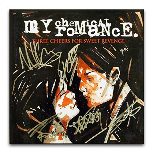 WPQL My Chemical Romance (Three Cheers for Sweet Revenge) - Poster copertina per album, 40 x 40 cm