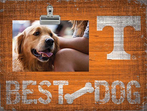 Fan Creations NCAA Tennessee Volunteers Best Dog Clip-It Photo Frame