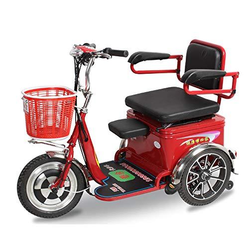 WMMY 3-Räder Elektromobil für Senioren, 25 km/h, E-Roller, Elektroroller, Senioren Elektromobil, E-Scooter Seniorenmobile