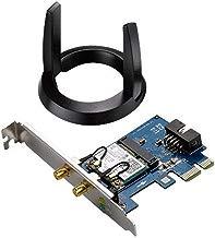 ASUS PCE-AC55BT_B1 - Tarjeta de Red Wi-Fi PCI-e AC1200 + Bluetooth 4.2 con tecnología BLE (Dual-Band, 2x2 MIMO)