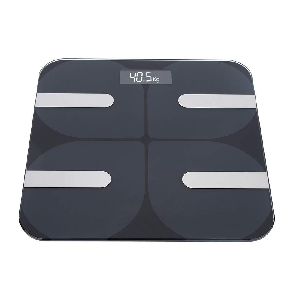 Body Fat Scale Digital Black Limited price BMI Electronic LCD B Smart Display Japan's largest assortment