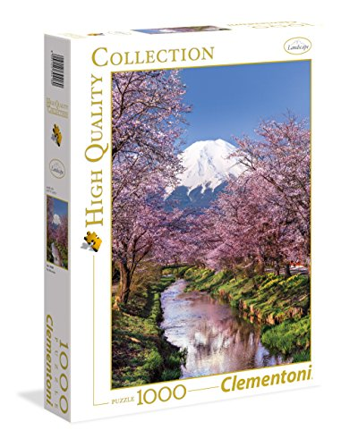 Clementoni- High Quality Collection-Fuji Mountain Puzzle, 1000 Pezzi, Multicolore, 39418