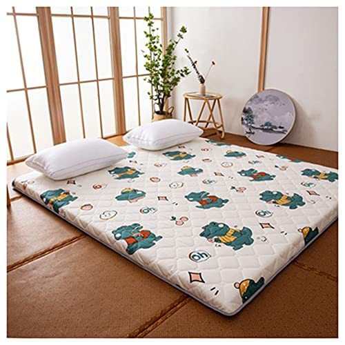 HFAFRZ ColchóN para Dormir, ColchóN De FutóN JaponéS ColchóN De Camping PortáTil Plegable 5cm Espesos ColchóN De ColchóN para HabitacióN De HuéSpedes,B,180x200cm