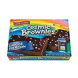 Little Debbie Cosmic Brownie Single-Serve Caddie, Chocolate, 6 Count
